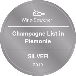 vinibianchirossi rewards Champagne List in Piemonte Silver 2019.png