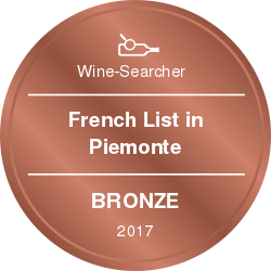 vinibianchirossi rewards French List in Piemonte Bronze 2017